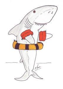 flotabilidad de los tiburones